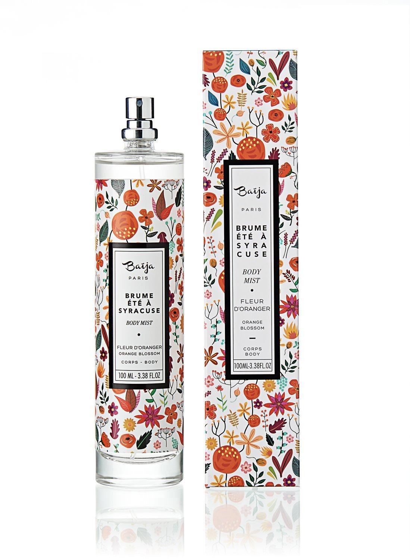 Bouquet parfumé Été à Syracuse • Fleur d'Oranger 100ml • BAÏJA
